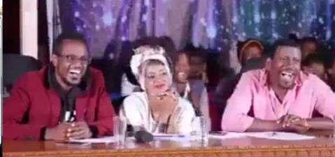 Yemaleda Kokoboch - A competitor Make A Joke On Kana TV