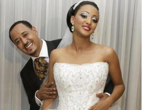 Artist Etsehiwot's Wedding - Ethiopian Wedding