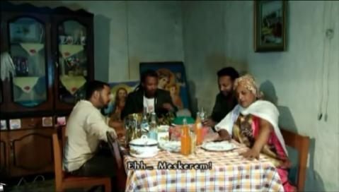 America - Wierd scene From Efuye Gela Movie