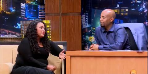 Seifu Fantahun Interview With Tina (Eyob Mekonenes's Wife)
