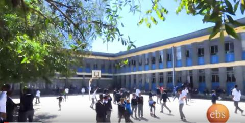 Tizetachen on EBS -  Coverage of St. Joseph School, Addis Ababa, Ethiopia