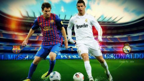 Cristiano Ronaldo vs Lionel Messi - Top 10 Goals