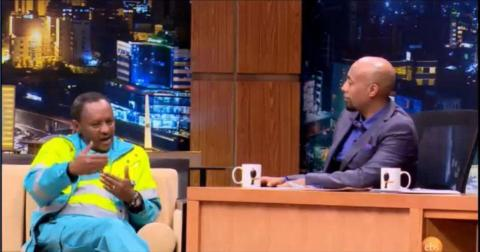 Seifu Fantahun Interview With Mr. Kibret Abebe