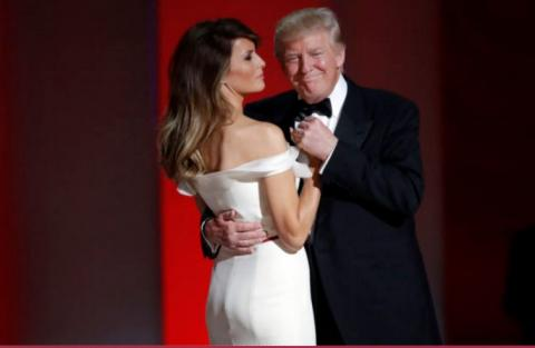 President Donald Trump and First Lady Melania Trump's First Dance