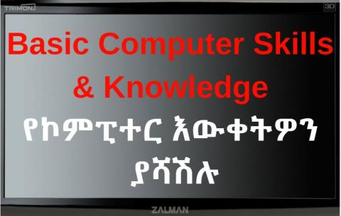 Basic Computer Skills and Knowledge- Course